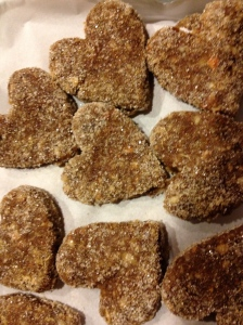Raw Ginger Cookies