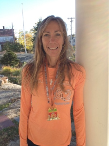 Here I am, still standing after my first official marathon.